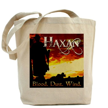 Buy Haxan merch at Cafe Press!