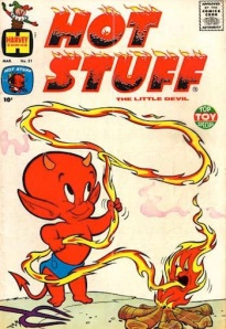 The first comic I ever bought was Hot Stuff, haha. What was yours?