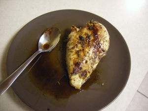 Balsamic chicken for dinner!