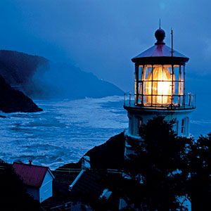 Lighthouses are like stories, they guide us through the dark....