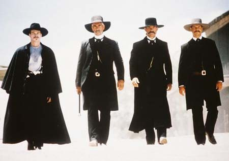 Iconic (albeit incorrect) image from Tombstone