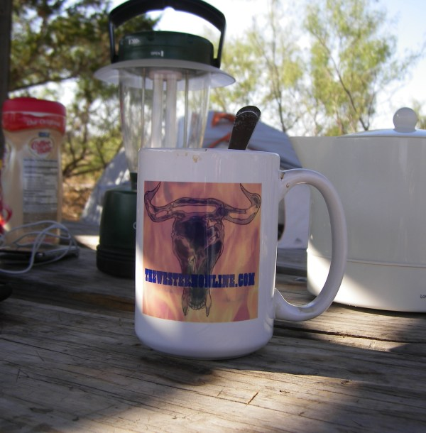 You can also get a coffee mug or merchandise from The Western Online....