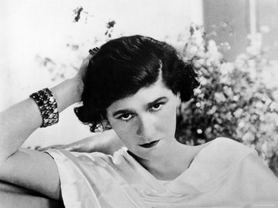 "Coco Chanel popularized the ""garconne"" look"