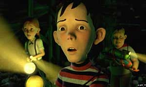 Superb animation and a loving attention to the writing and characterization in Monster House