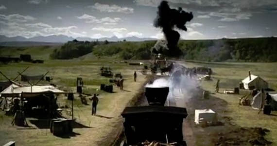 Believe it or not the Transcontinental Railroad was built by more than, like, twenty guys.