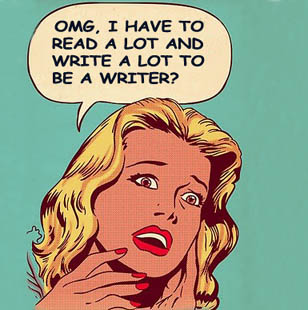 Writing is hard...but that's the easy part of writing....