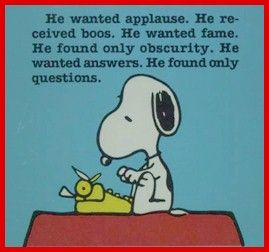 There are lots of questions in writing but few answers due to its orgainic nature.