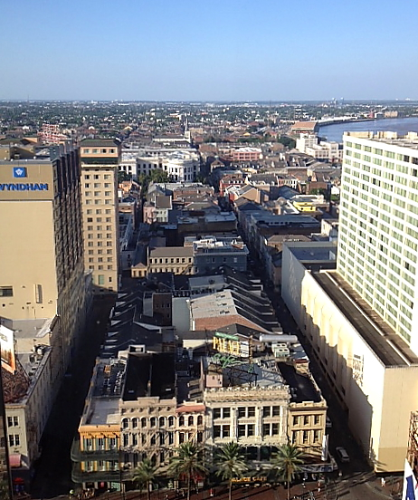 What a view of the Vieux Carre!