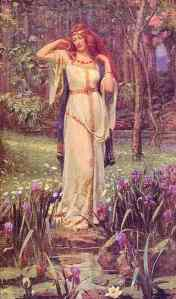 Freya is one of the gods I will use in my journey through Nordic Wiccan.